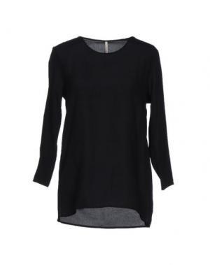 Блузка EMMA&GAIA. Цвет: черный