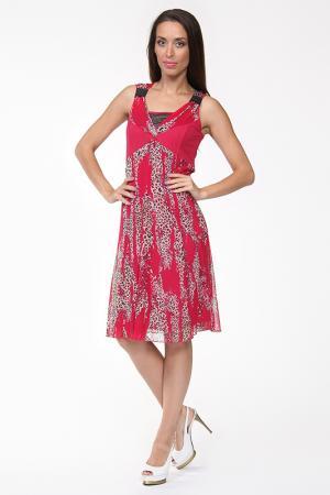 Платье Evalinka. Цвет: красный