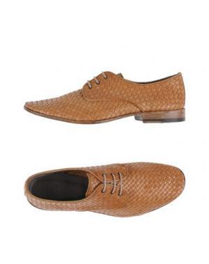 Обувь на шнурках SARTORI GOLD. Цвет: верблюжий