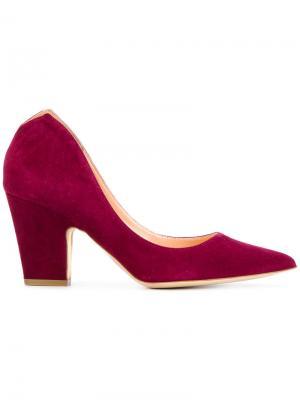 Туфли-лодочки Cicely Rupert Sanderson. Цвет: красный