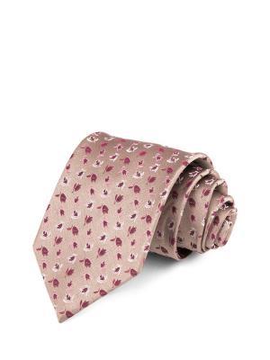 Галстук CARPENTER. Цвет: розовый, золотистый