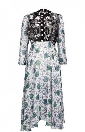 Платье Duro Olowu. Цвет: разноцветный