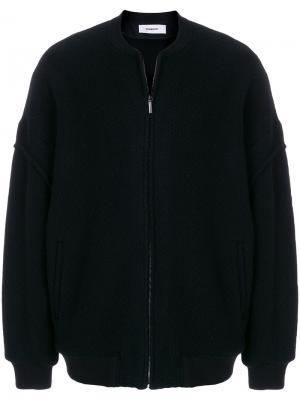 Куртка свободного кроя на молнии Chalayan. Цвет: чёрный