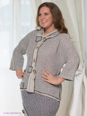 Кофта Milana Style. Цвет: серый