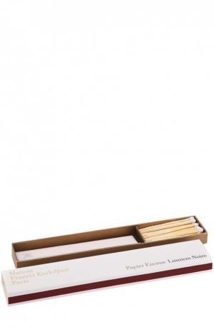 Ароматическая бумага Lumiere Noir Maison Francis Kurkdjian. Цвет: бесцветный