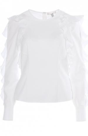 Блуза Erdem. Цвет: белый