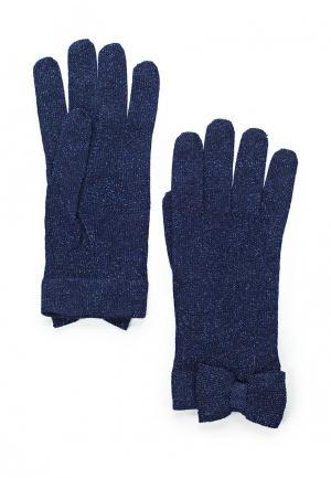 Перчатки Patrizia Pepe. Цвет: синий