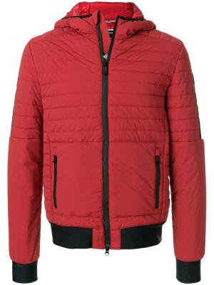 Стеганая легкая куртка Rossignol. Цвет: красный