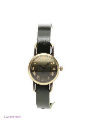 Часы Memory (зеленые) Kawaii Factory. Цвет: темно-зеленый