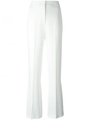 Расклешенные брюки Joseph. Цвет: белый