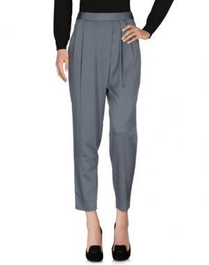 Повседневные брюки INTROPIA. Цвет: темно-зеленый