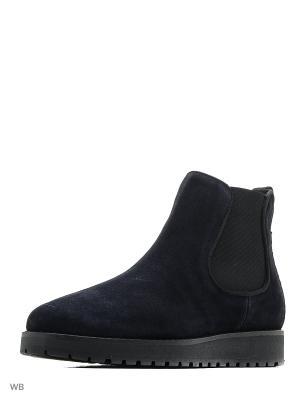 Ботинки Tommy Hilfiger. Цвет: темно-синий