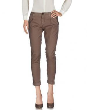 Повседневные брюки YAN SIMMON. Цвет: хаки