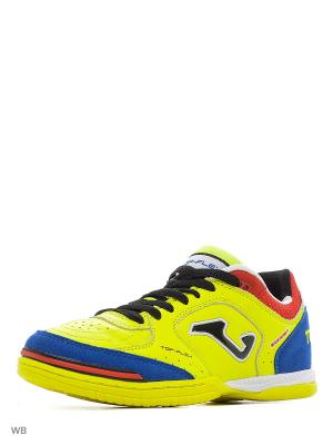 Бутсы TOP FLEX Joma. Цвет: синий, желтый, красный