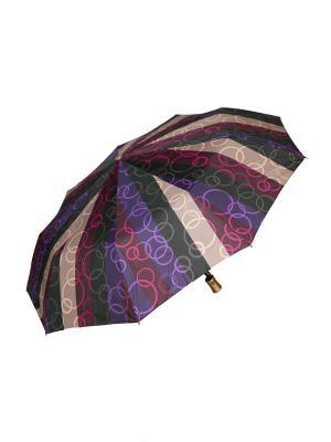 Зонт автоматический Mitya Veselkov. Цвет: бордовый