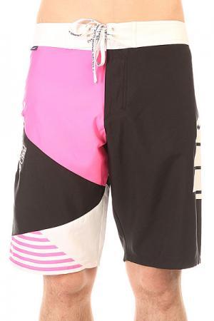 Шорты пляжные  Vector 22 Pink Picture Organic. Цвет: розовый,черный,белый