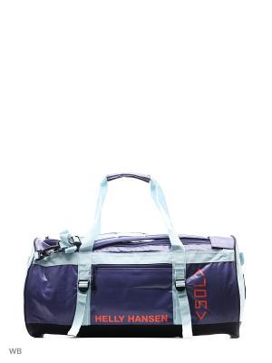 Сумка CLASSIC DUFFEL BAG 50L Helly Hansen. Цвет: бирюзовый, фиолетовый