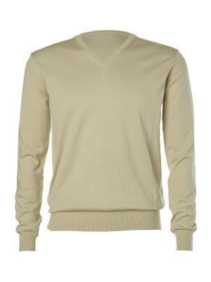 Пуловер Kangra. Цвет: светло-бежевый