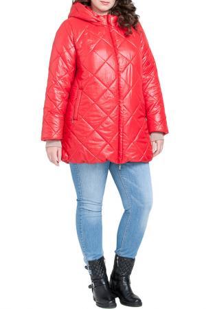 Куртка Modress. Цвет: красный