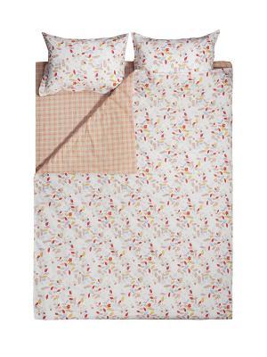 Комплект постельного белья 1,5 сп. Dream time. Цвет: оранжевый, желтый