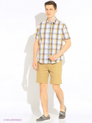 Рубашка Favourite. Цвет: желтый