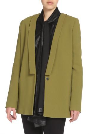 Жакет MSGM. Цвет: зеленый