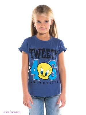 Футболка Tweety. Цвет: фиолетовый