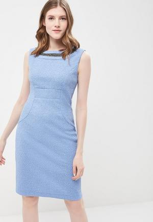 Платье Vemina City Lisa Romanyk. Цвет: голубой