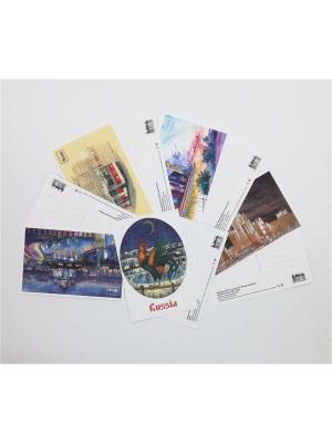 Набор акварельных открыток №1 Даринчи. Цвет: белый