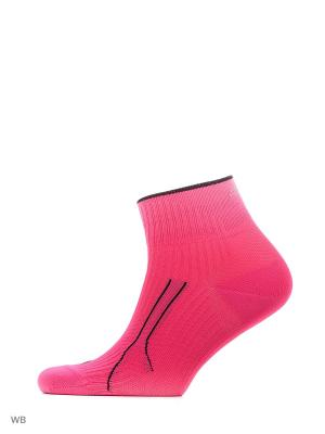 Носки PUMA CELL RUN QUARTER 1P. Цвет: розовый
