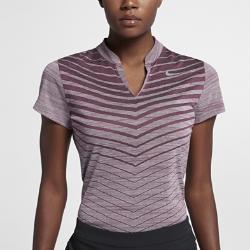 Женская рубашка-поло для гольфа  Zonal Cooling Nike. Цвет: пурпурный