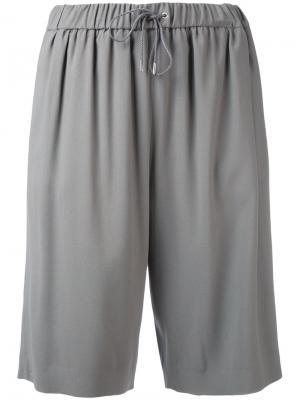 Спортивные шорты Fabiana Filippi. Цвет: серый