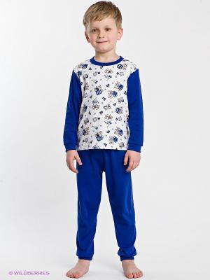Пижама Хох. Цвет: синий, белый