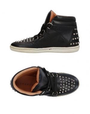 Высокие кеды и кроссовки SANDRO. Цвет: черный