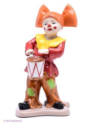 Фигурка Клоун Pavone. Цвет: красный, оранжевый, желтый