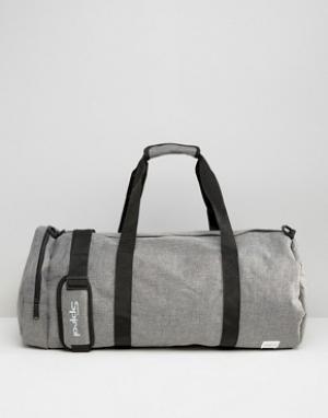 Spiral Серая сумка. Цвет: серый