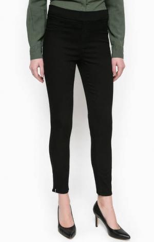 Укороченные брюки из хлопка Mavi. Цвет: черный