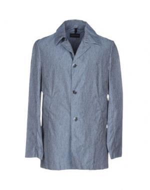 Легкое пальто AQUARAMA. Цвет: синий