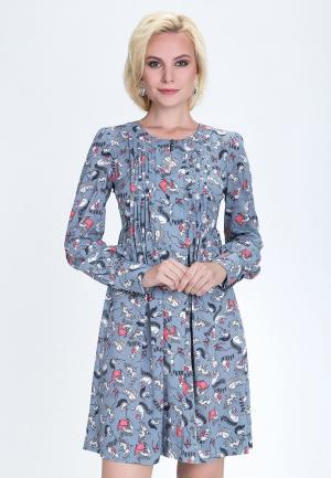 Платье Audrey Right. Цвет: серый