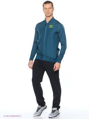 Куртка VARSITY STYLE JACKET ASICS. Цвет: синий