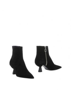Полусапоги и высокие ботинки ROBERTO FESTA. Цвет: черный