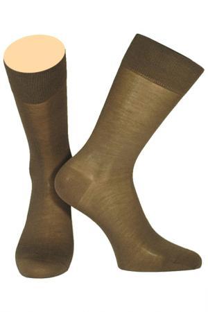 Носки Collonil. Цвет: коричневый