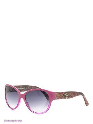Солнцезащитные очки Franco Sordelli. Цвет: фуксия