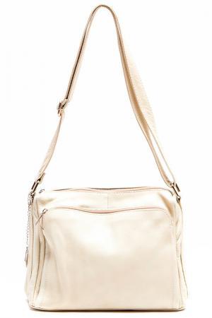 Деловая сумка Isabella Rhea. Цвет: бежевый