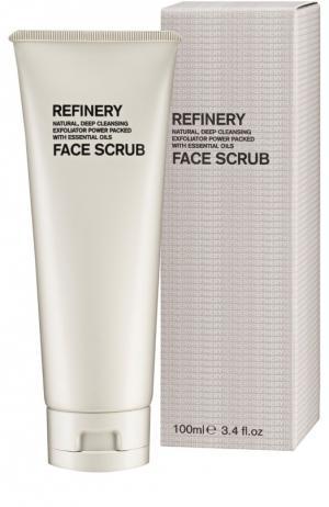 Скраб для глубокого очищения Refinery Face Scrub Aromatherapy Associates. Цвет: бесцветный