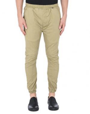 Повседневные брюки RVLT/REVOLUTION. Цвет: хаки