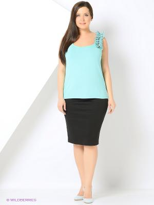 Топ Milana Style. Цвет: зеленый