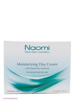 Крем для лица увлажняющий с минералами Мертвого моря Naomi Dead Sea Cosmetics. Цвет: белый