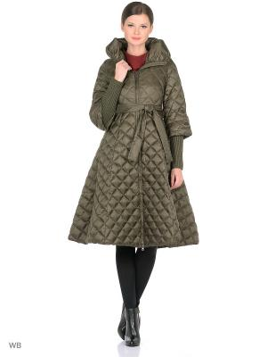 Пальто Clasna. Цвет: хаки