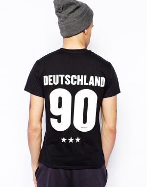 Футболка  Germany 90 Born Idol. Цвет: черный